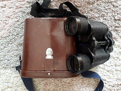 Vintage Carl Zeiss Jena 7x50 Jenautic Binoculars in Case  ref 4490440