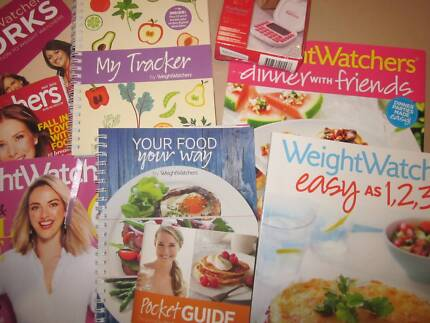 Weight watchers cookbooks, tracker and calculator(NEW) Champion Lakes Armadale Area Preview