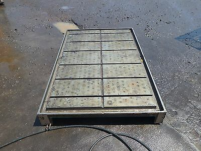 67.25 X 44.25 X 6.5 Steel Welding T-slotted Table Cast Iron Layout Plate Jig