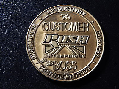 The Customer Rush Enterprises Is The Boss Token    Uu154uxx