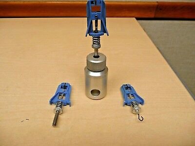 Instron 2711-006 Lever Action Grip Single Fiber Paper And Film Grip Tensile Test