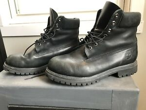 """Timberland 6"""" Premium Waterproof Boots Men's Size 10"""