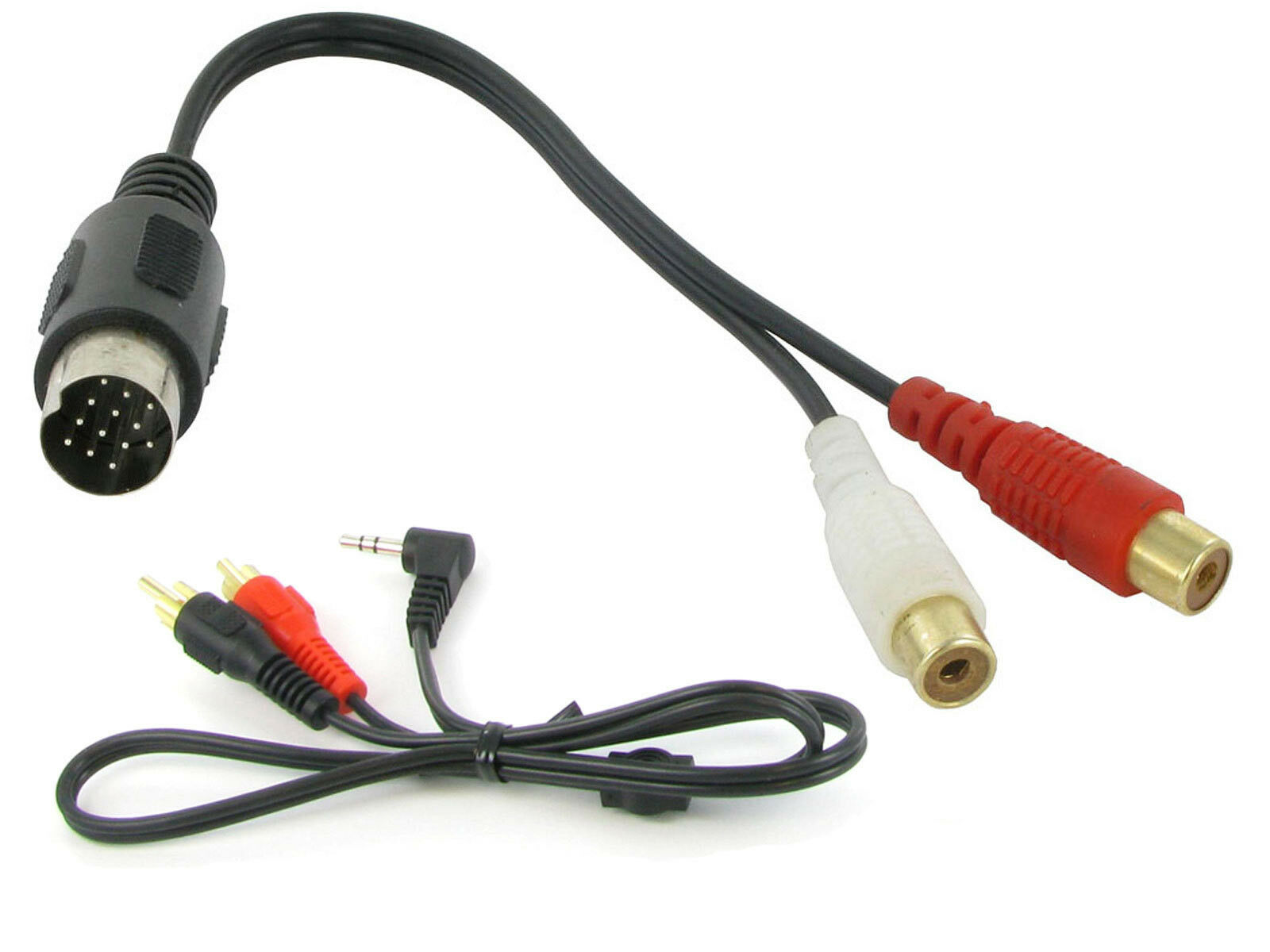 Kenwood CA-C1AX AUX input 3.5mm jack lead car radio iPhone MP3 adapter CT29KW01