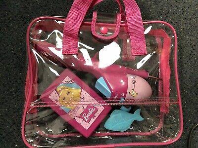 - Shakespeare Youth Barbie Spincast Combo Purse Fishing Pole Kit