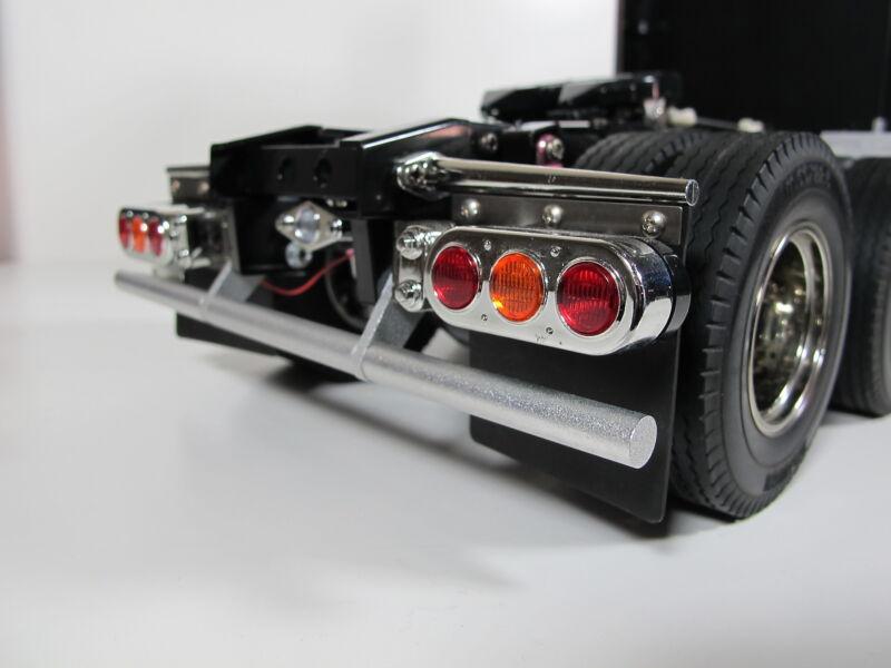 Custom Rear Lower Bumper Guard Tamiya R/C 1/14 Knight Hauler Aeromax Man Truck