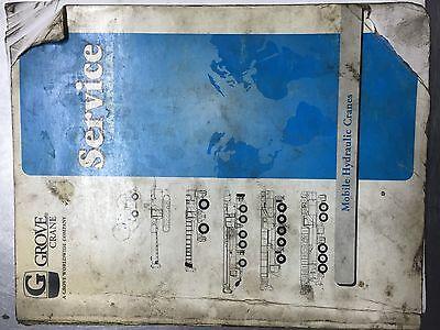 Grove Crane Service Manual Tms700b  Sn 221374