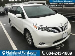 2015 Toyota Sienna XLE 7 Passenger *LOCALLY DRIVEN*