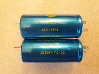 HUNTS .001uF 300v AC Capacitor 4 x Pieces Nos Vintage ERIE