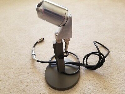 Vintage Electro Voice 638 Microphone w/ Stand & Cable Untested Selling As Is
