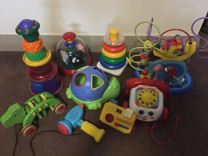 Infant Toy Bundle - Fisher Price, etc.. Meadowbank Ryde Area Preview