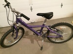 Girls Giant 7 gear Mountain Bike