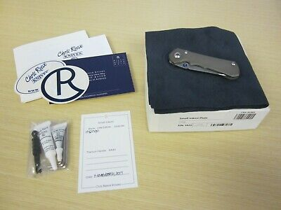 Chris Reeve Knives CRK Small Inkosi Insingo S35VN Titanium Framelock