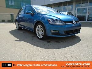 2015 Volkswagen Golf 2.0 TDI Highline Satellite Radio, Blueto...