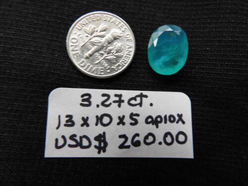 Fine grade Paraiba Blue Opal