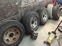 265/75r16 tires wheels sensors 8 bolt