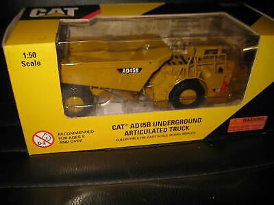 CAT 1/50 CATERPILLAR CAT AD45B UNDERGROUND ARTICULATED TRUCK 55191 OLD STOCK