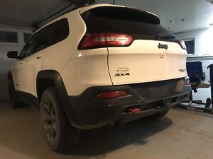 Jeep Cherokee Trailhawk with extended warranty