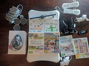 Wii bundle, Wii fit, Wii sing Seaford Morphett Vale Area Preview