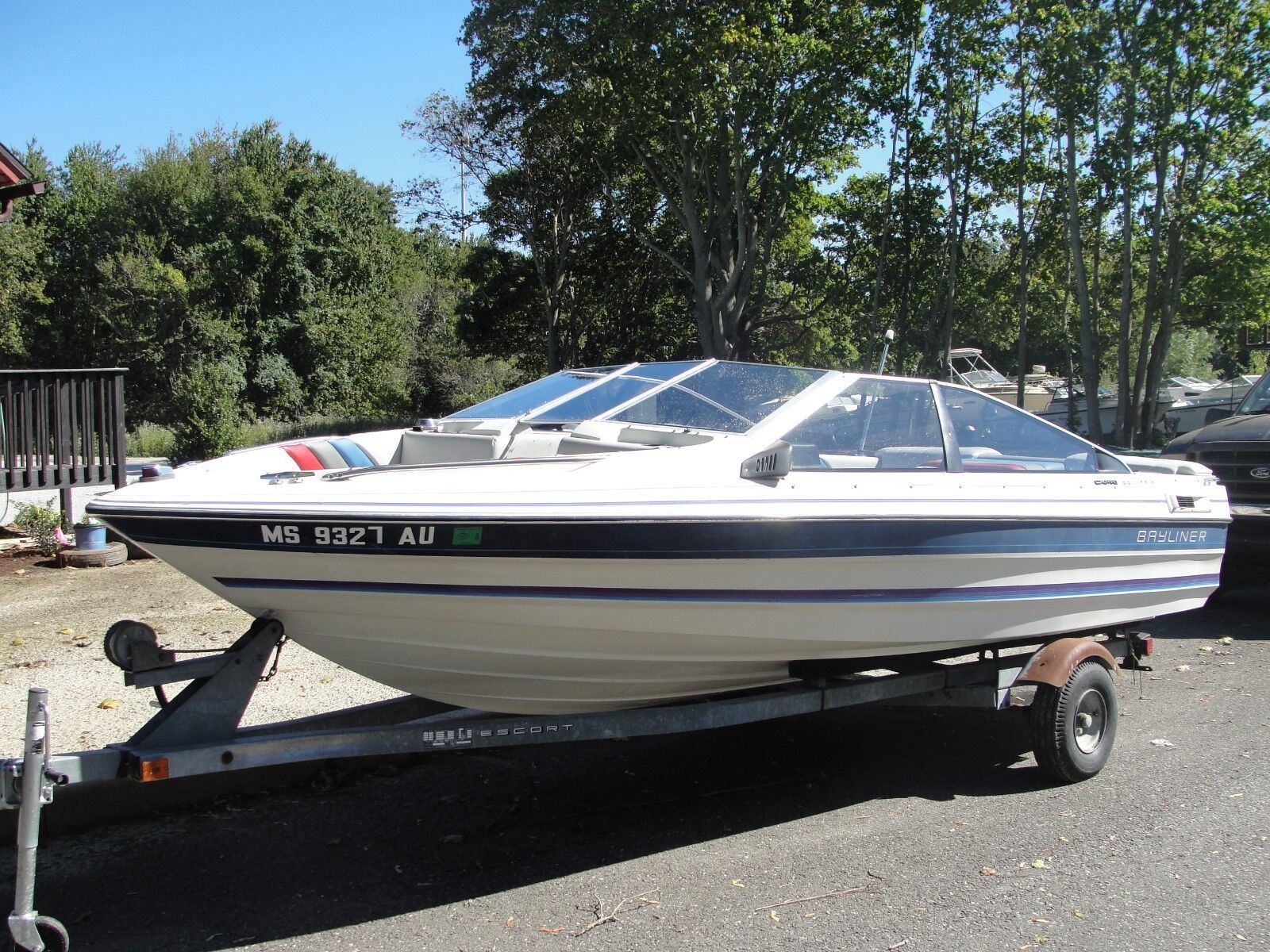 1987 Bayliner Capri Bowrider Wiring Diagram 17 With 23l Omc Cobra Freshwater Used Only 1 Owner
