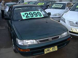 1998 Toyota Corolla AUTO full serviced and mechinicly inspected. Clyde Parramatta Area Preview