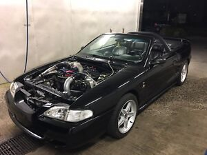 1994 Mustang GT convertible w/built 351 & procharger $11,500 obo
