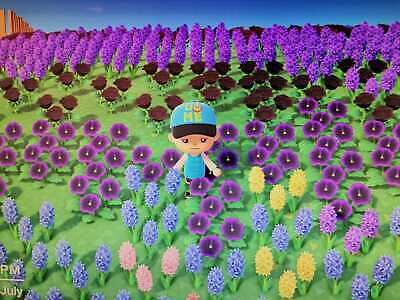 ANIMAL CROSSING NEW HORIZON 9 MIX AND MATCH FLOWERS