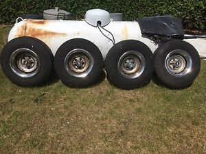 5 Bolt 8 inch Rally wheels Chev pickup