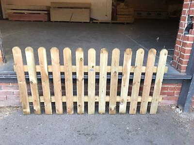 Picket Fence Panel Timber 6ft x 3ft TREATED New product!