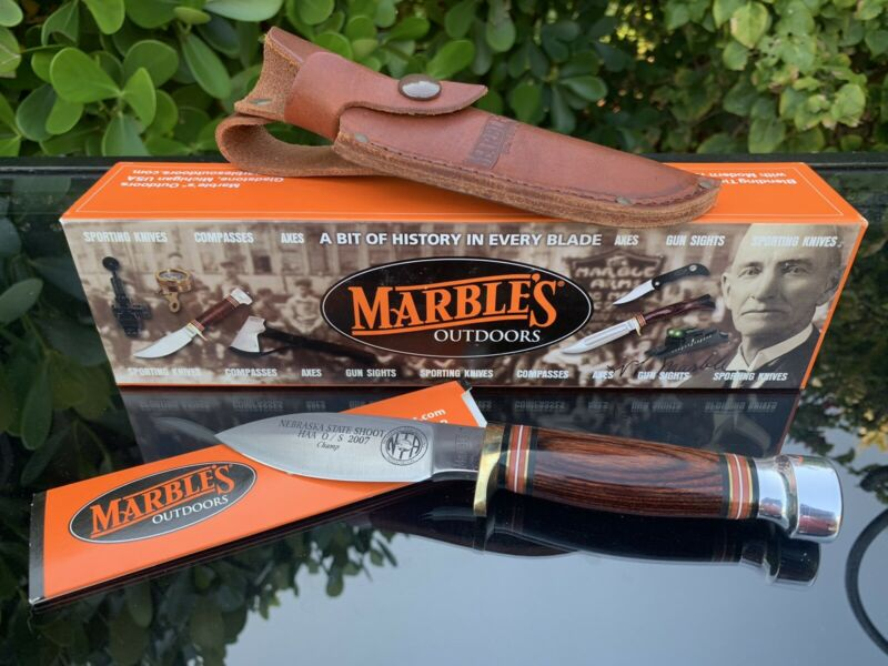 MARBLES SPORT KNIFE, BROWN PACCA