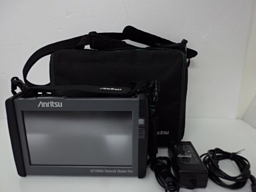 Anritsu MT1000A Network Master PRO w/OTDR, MU100020A /10G Ethernet, MU100010A