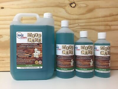 Wood Care - Wood & Laminate Floor Natural Cleaner Protector - 750ml - Floral