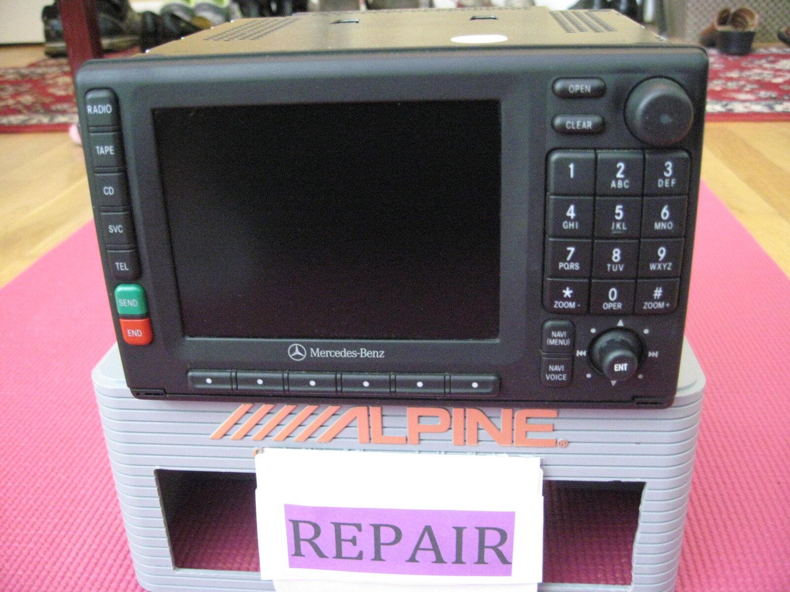 Mercedes benz ml500 ml350 ml320 comand radio we repair for Mercedes benz ml320 radio code
