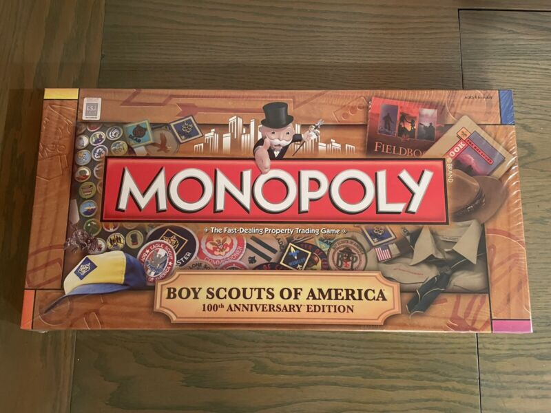Monopoly - Boy Scouts Of America BSA - 100th Anniversary Edition MIB