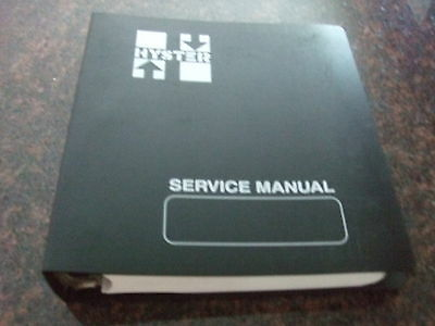 Hyster W3040za W253040zc W2030zr Walkie Stacker Service Shop Repair Manual