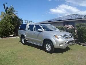 2008 Toyota Hilux SR5 4x4 Dual Cab Ute Port Macquarie Port Macquarie City Preview