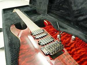 IBANEZ PREMIUM  RG870QMZ-RDT 6 STRING  RED DESERT QUILTED FINISH Kogarah Rockdale Area Preview