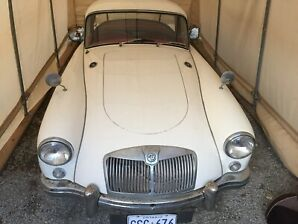 1958 MGA Coupe for Sale