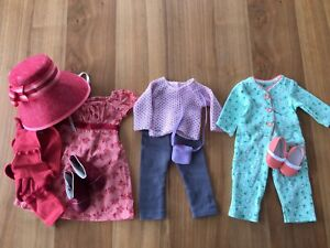 American Girl doll clothes (orange slippers set)
