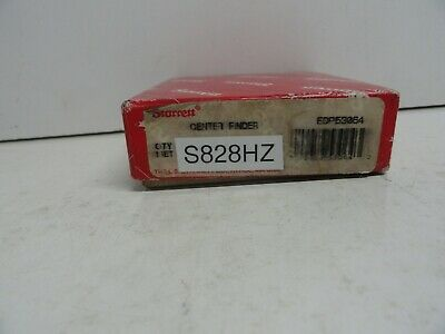 Starrett No.s828hz Wiggler Or Center Finder Complete In Case Made In Usa