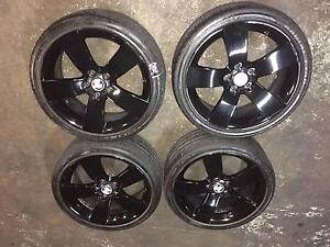 HOLDEN COMMODORE VE SSV 19 INCH WHEELS TYRES FIT VT VX VU VY VZ Kingswood Penrith Area Preview