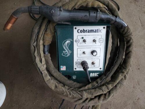 MK Cobramatic 150-005 wire feeder with 25 ft. push/pull python lead & gun