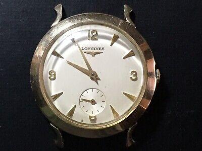 Longines Wrist Watch 10k Gold Filled Running