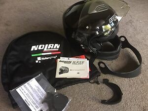 Motorcycle Helmet Nolan N43E Trilogy REDUCED Mawson Woden Valley Preview
