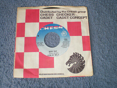 "HOWLIN' WOLF - MARY SUE - NEAR MINT 1969 USA CHESS LABEL 7"" SINGLE"