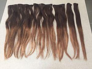 Zala 5 piece clip in hair extension set .  $80 Labrador Gold Coast City Preview