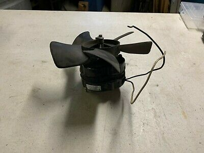 Used Miller Welder Part 188706 148809 Fan Motor With Blade Millermatic 252