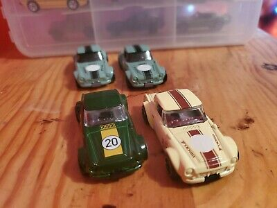 Set Of 4 Hot Wheels Nissan/Datsun Fairlady 2000 basic range and multi-pack