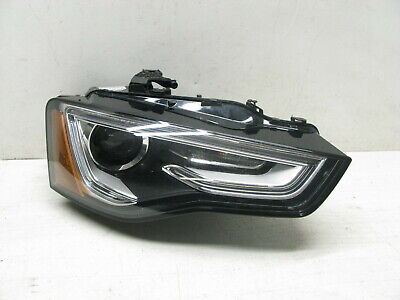 13-17 AUDI A5 S5 B8 XENON HEADLAMP HEADLIGHT PASSENGER RIGHT 022119B
