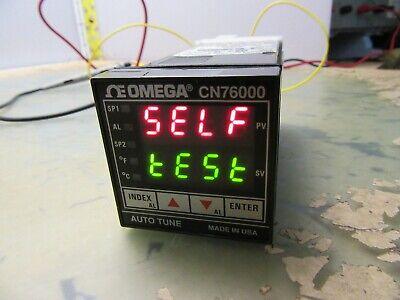Omega Cn76020 0110000 Autotune Process Temperature Controller 5b-16