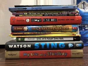 12 Kids Books (Ages 6-12)